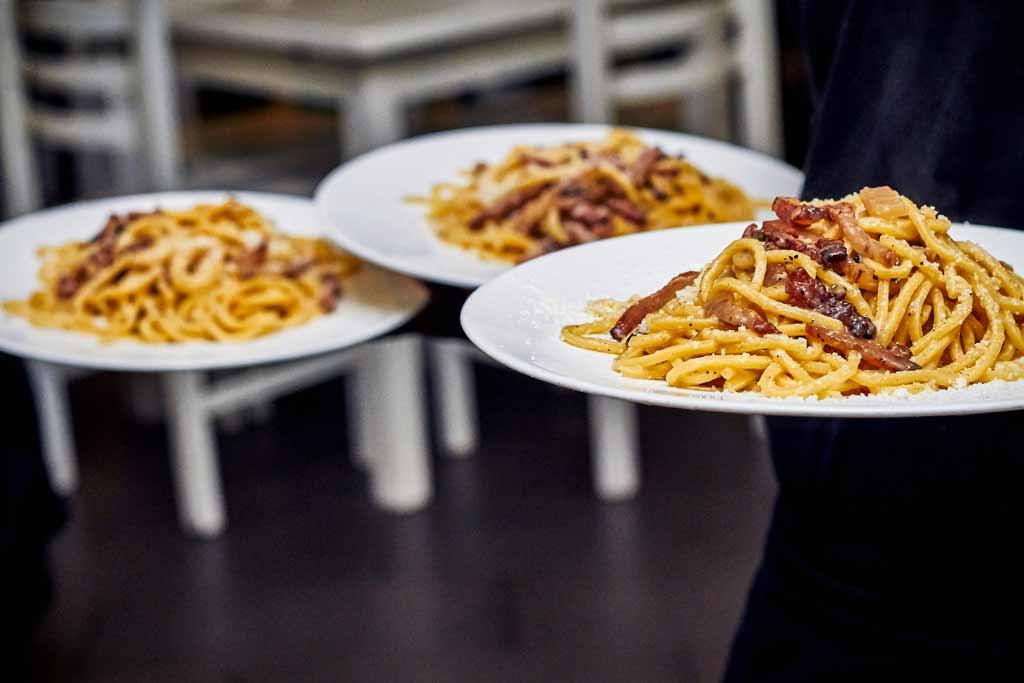 La cucina romana caligola for Primi piatti tipici romani